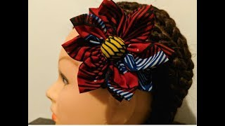 How To Make Fabric Flower/ Tutorial