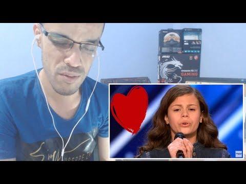 Angelina Green: 13-Year-Old Singer - Golden Buzzer - America's Got Talent ||REACTION|| جزائري (видео)