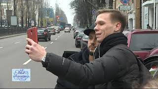 Monatik сел за руль такси и удивил пассажиров! - Интер