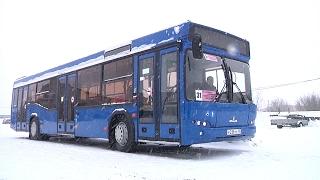 """Новый автобус """"Новотранса"""""""