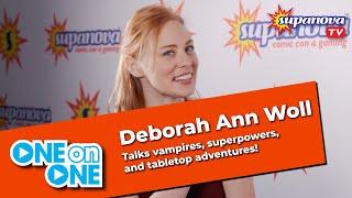 One On One With Deborah Ann Woll - Supanova TV