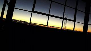 preview picture of video 'Time lapse of the sun setting over Ninham tower Kent N.Y.'