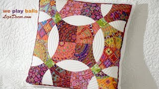 Patchwork We Play Balls - Kaffe Fassett Fabrics - Lizadecor