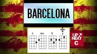 Barcelona Ed Sheeran C Am G F