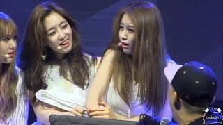 Jiyeon T-ara so funny in Bangkok Fanmeeting 170401 지연 타아라 직캠