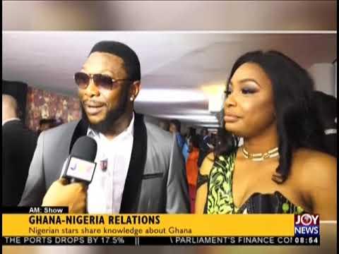 Ghana-Nigeria Relations - AM Showbiz on JoyNews (6-9-18)