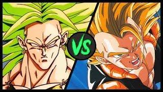Broly VS Super Gogeta   Dragon Ball Z