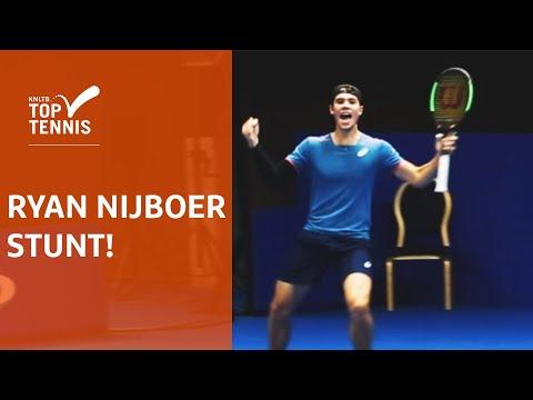 Ryan Nijboer zorgt voor daverende verrassing op NK tennis: Robin Haase verslagen