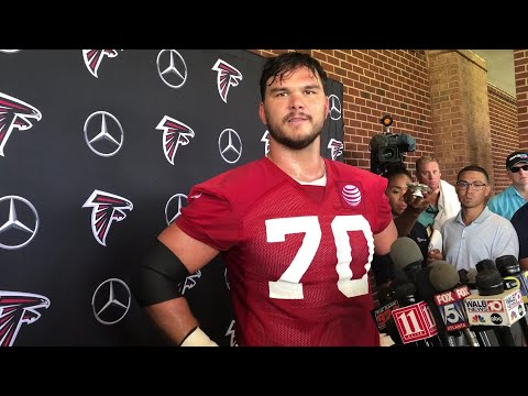Jake Matthews on his new Falcons deal