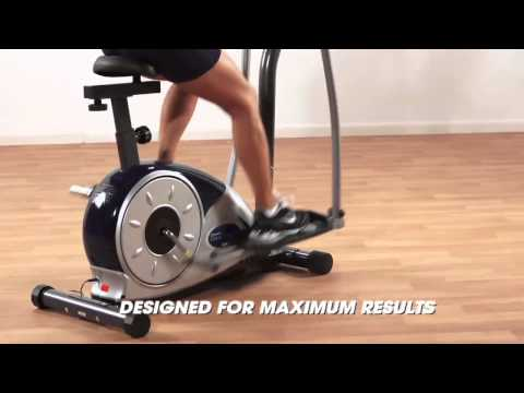 Train at Home with the Body Champ Cardio Dual Trainer