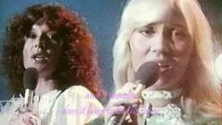 [Lyrics] ABBA-Angeleyes (Agnetha & Bjorn)