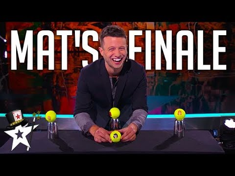 Matt Franco's Finale on America's Got Talent 2014 | Magicians Got Talent (видео)