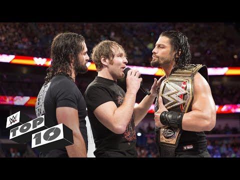 Greatest Shield showdowns: WWE Top 10 (видео)