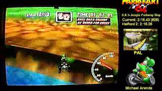 MK64 DKJP 3lap 2:16.13 PAL God / Halford 2