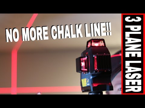 BOSCH 360° 3-PLANE SELF LEVELING LASER LEVEL GLL3-300 - TOOL REVIEW TUESDAY!
