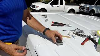 Installing A Roof Rack On The Ford Transit Van