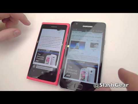 Browser Speed Test: Nokia Lumia 800 Vs iPhone 4S Vs Samsung Galaxy S II