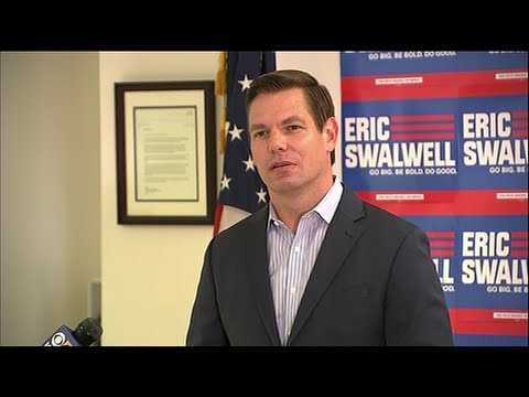 Rep. Eric Swalwell on Monday became the first candidate in the crowded 2020 Democratic presidential primary to exit the campaign, saying he would run for reelection to his California congressional seat next year. (July 8)