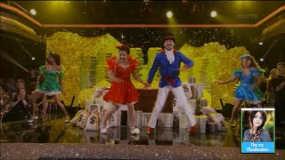 Laurie Hernandez & Val Ducktales Performance on Dancing with the Stars | LIVE 9-19-16