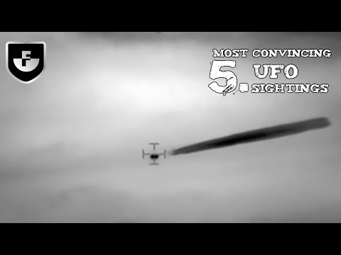 5 Most Convincing UFO Sightings Caught on Camera #1
