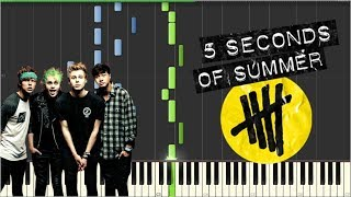 5SOS - Story Of Another Us [Tutorial Synthesia] Piano Neith Version
