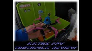 Kkthx FPV vs AP GEPRC Dolphin Toothpick Flight test/Maiden
