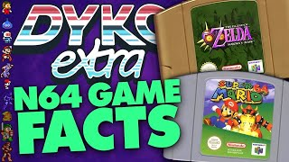 Nintendo 64 Game Facts (N64) - Did You Know Gaming? Feat. Greg