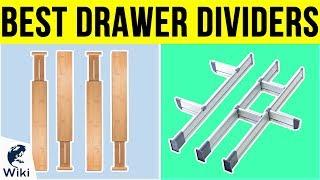 10 Best Drawer Dividers 2019