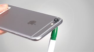 How to replace scratched/ cracked iPhone 6 Camera lens? -  Replacement Tutorial