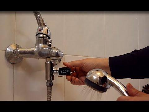 Termometro con display per doccia o vasca