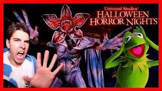 KERMIT HAUNTS HALLOWEEN HORROR NIGHTS   Universal Studios Orlando