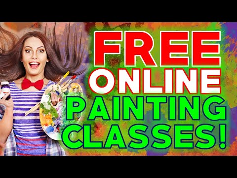 Free Online Painting Classes | Learn Painting Online Free Step by Step