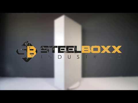 Lüllmann Stahl Aktenschrank Metallschrank abschließbar Werkstattschrank | Steelboxx