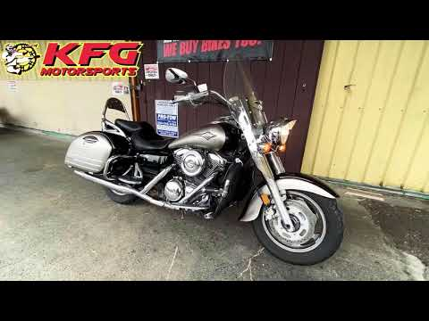 2007 Kawasaki Vulcan® 1600 Nomad™ in Auburn, Washington - Video 1