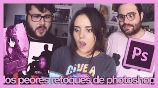 LOS PEORES RETOQUES DE PHOTOSHOP | Zavid ft. Andrea Compton