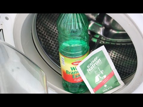 Wundermittel für die Waschmaschine - Emperor soda & vinegar miracle for the washing machine
