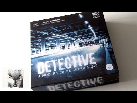 Box of Delights Presents ..... DETECTIVE: A Modern Crime Board Game