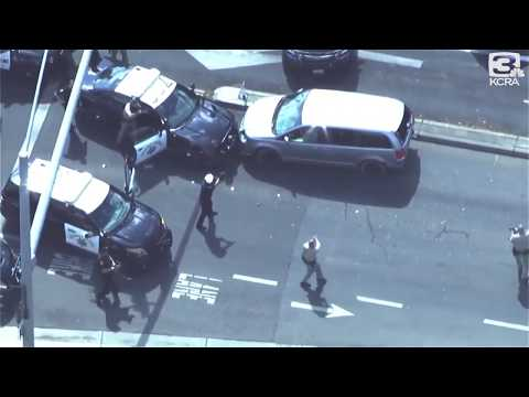 🚓  Adam Carr vs Roseville Police: Bullets Flying! Helicopter Raw Footage! 09/16/2019