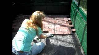 How to Lay Brick Pavers in a Greenhouse