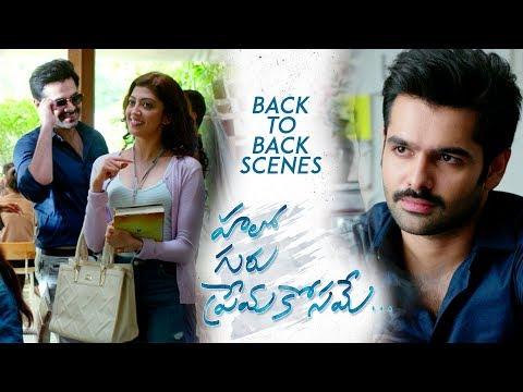 Hello Guru Prema Kosame Back to Back Scenes - Ram Pothineni, Anupama, Pranitha Subhash