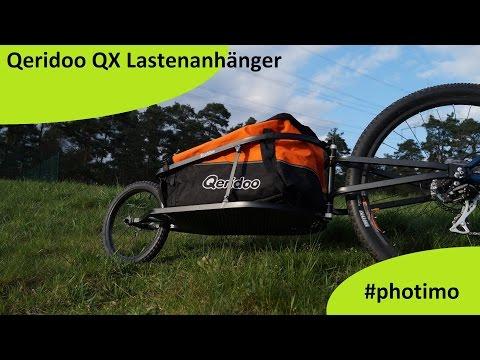 Fahrrad Anhänger Qeridoo QX Lastenanhänger (deutsch/HD)