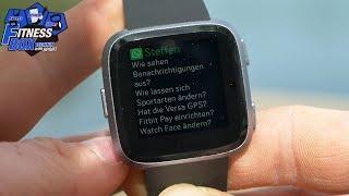 Fitbit VERSA: Die meistgestellten FRAGEN zur Smartwatch beantwortet // FAQ