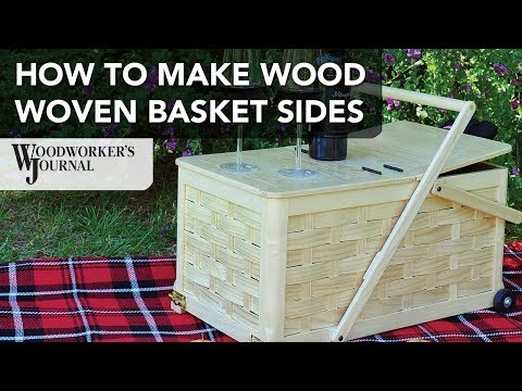 How To Weave A Wood Basket | Picnic Basket Project Mp3