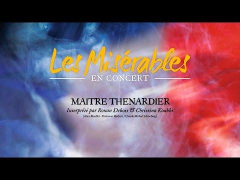 Maitre Thénardier (Christina Koubbi est Madame Thénardier)