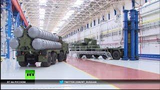Владимир Путин посетил нижегородский завод концерна «Алмаз-Антей»