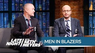 Men in Blazers on Chelsea, Manchester United and West Ham's Seasons - Late Night with Seth Meyers - dooclip.me