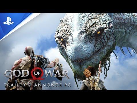 Bande annonce sur PC de God of War