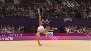 Evgeniya Kanaeva Wins Rhythmic All-Around Gymnastics Gold - London 2012 Olympics