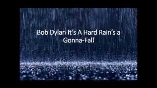 "Bob Dylan ""A Hard Rains A Gonna-Fall"" (lyric Video)"