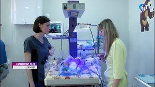 За три года количество родов в Новгородской области снизилось на 40%
